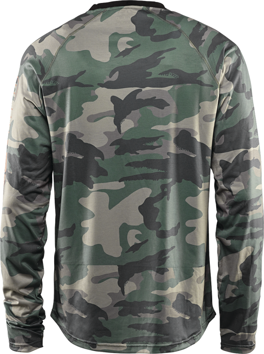 Термобелье THIRTYTWO RIDE LITE L/S, Camo - верх