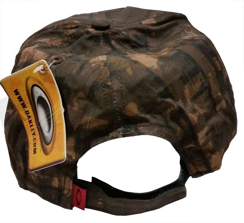 Бейсболка OAKLEY DISTRESSED CAMO CAP, Brown