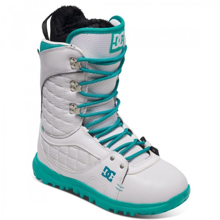 Ботинки для сноуборда DC KARMA 16-17, White