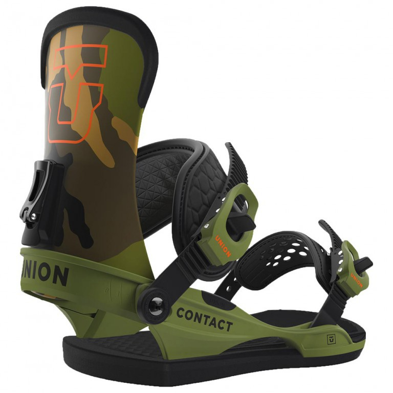 Крепления для сноуборда UNION CONTACT 16-17, Camo