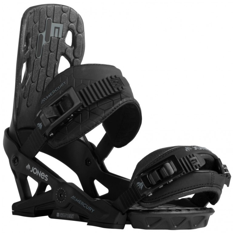 Крепления для сноуборда JONES MERCURY 18-19, Black