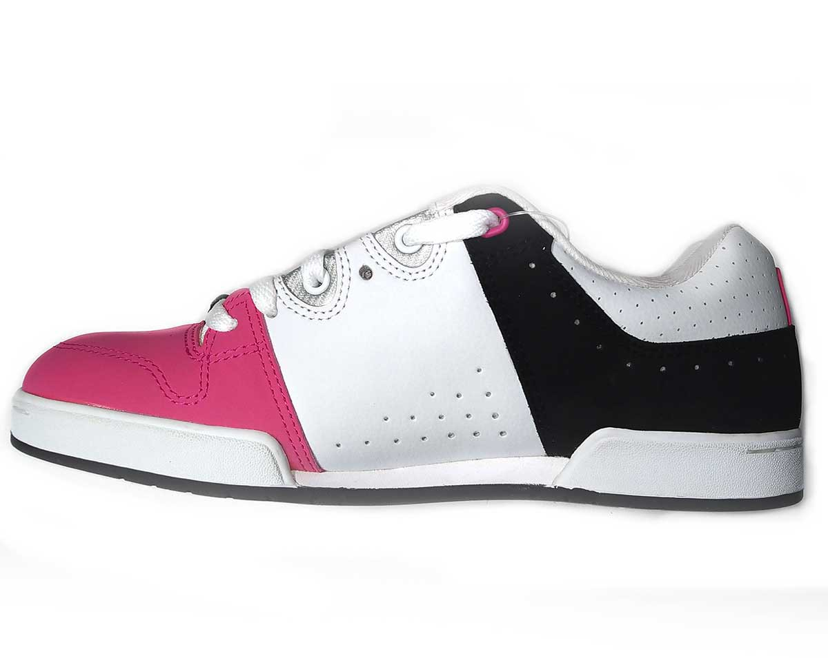 Кеды DC TURBO, White/Black/Pink