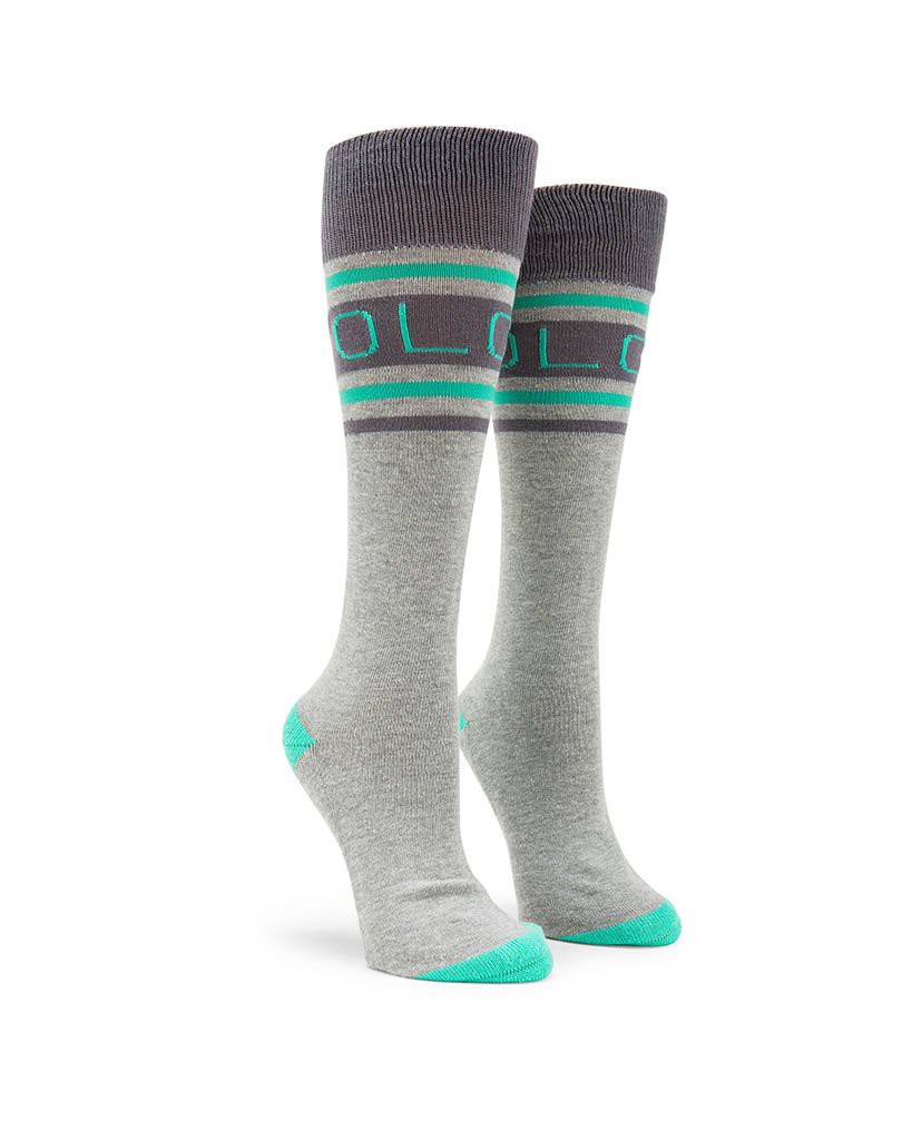 Термо-Носки VOLCOM HAWK SOCK, Heather Grey