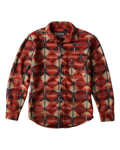 Флисовая Рубашка BILLABONG FURNACE FLANNEL, Terra