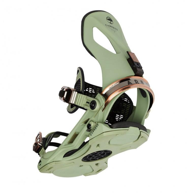Крепления для сноуборда ARBOR CYPRESS 19-20, Green